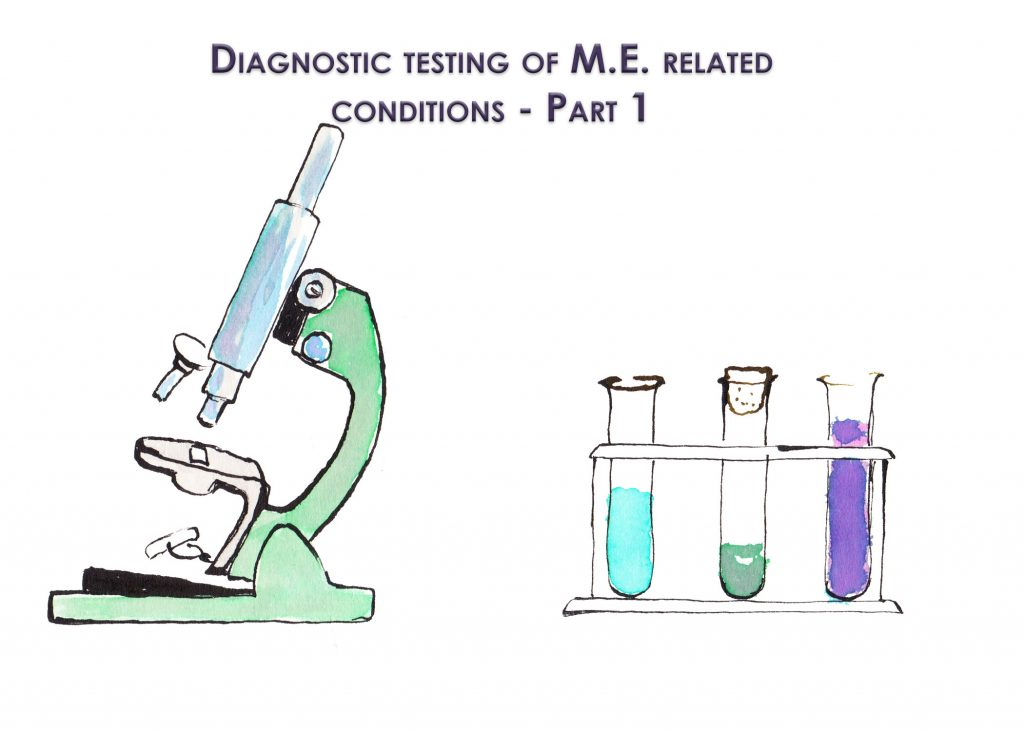 Diagnostic testing of M.E. related conditions- Part 1